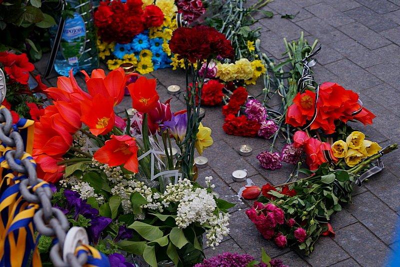 Патриоты почтили память первых погибших 2 мая в Одессе (ВИДЕО, ФОТО), фото-9