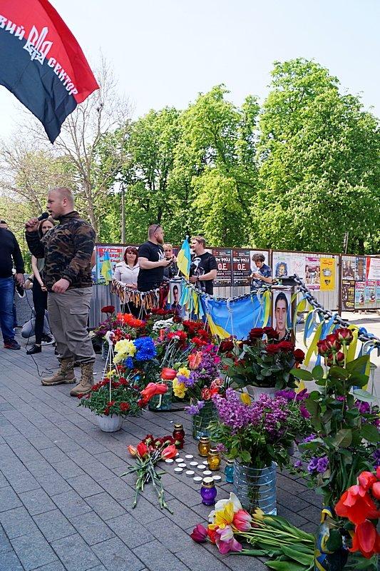 Патриоты почтили память первых погибших 2 мая в Одессе (ВИДЕО, ФОТО), фото-12