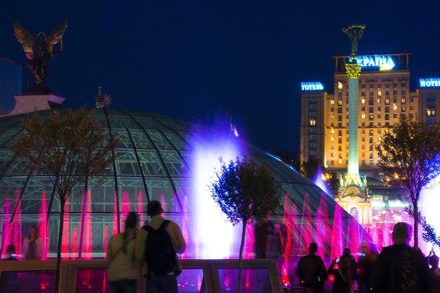 В центре Киева включили все фонтаны (ФОТОРЕПОРТАЖ), фото-3