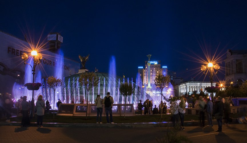 В центре Киева включили все фонтаны (ФОТОРЕПОРТАЖ), фото-2