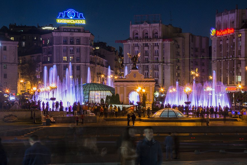 В центре Киева включили все фонтаны (ФОТОРЕПОРТАЖ), фото-10
