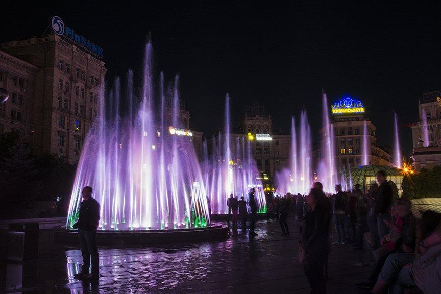 В центре Киева включили все фонтаны (ФОТОРЕПОРТАЖ), фото-12