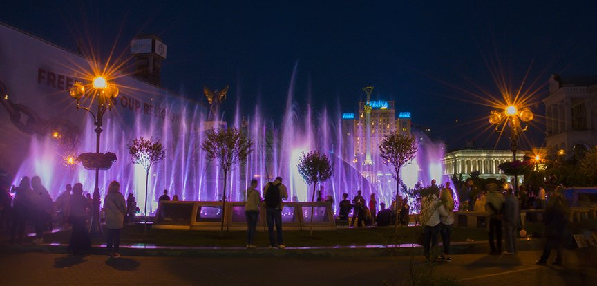 В центре Киева включили все фонтаны (ФОТОРЕПОРТАЖ), фото-1