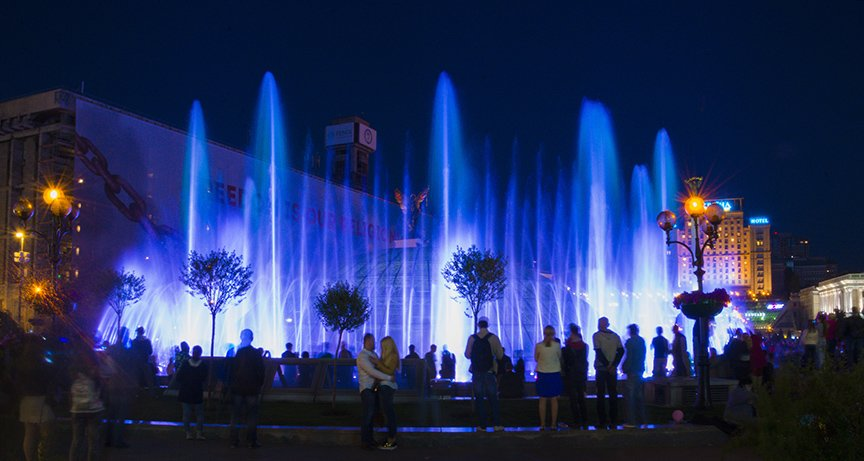 В центре Киева включили все фонтаны (ФОТОРЕПОРТАЖ), фото-8