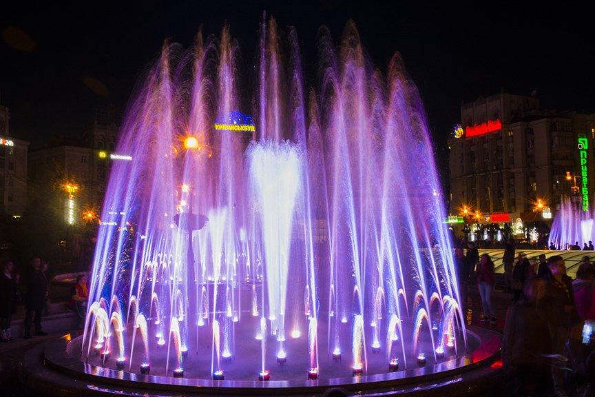 В центре Киева включили все фонтаны (ФОТОРЕПОРТАЖ), фото-11