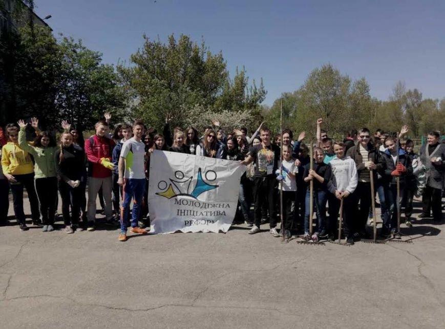 Члены общественных организаций помогают Павлограду стать чище, фото-2