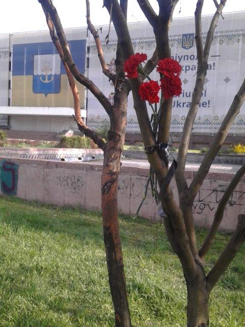 Полицейские не нашли сепаратистов в центре Мариуполя (ФОТО), фото-1