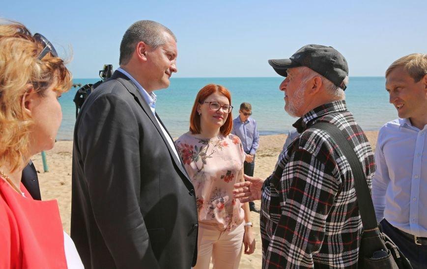 Аксенов поручил усилить работу по подготовке пляжей к летнему сезону (ФОТО), фото-4