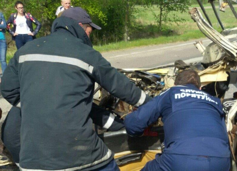 Страшное ДТП в Черниговской области. Фото, фото-1