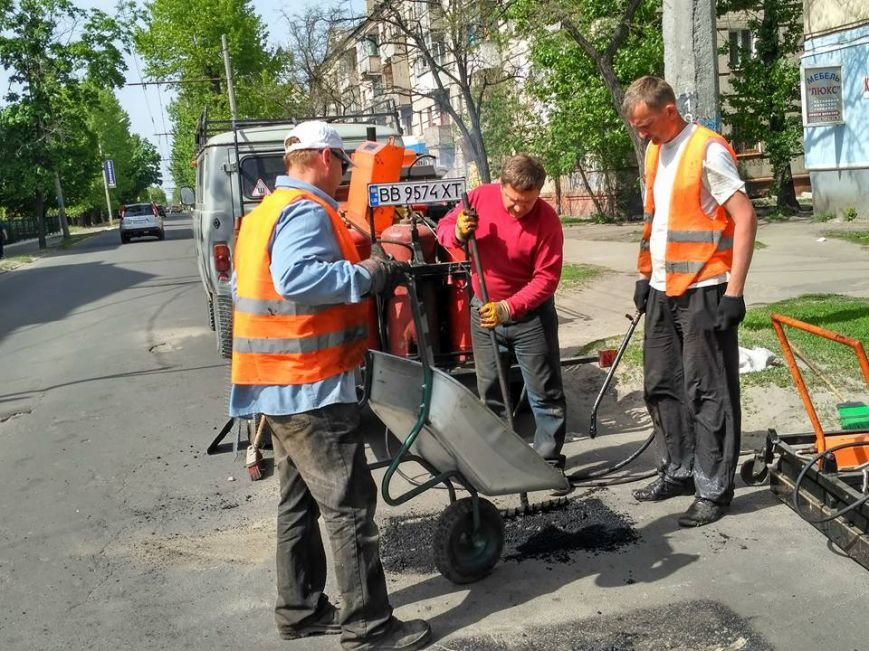 В Северодонецке ремонтируют дороги (фото), фото-2