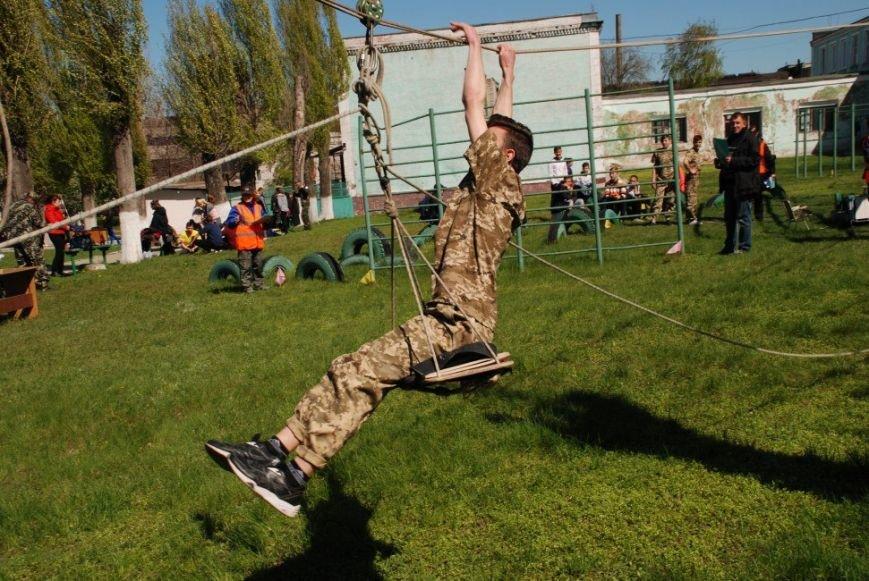 В Каменском прошел финал игры юных патриотов «Сокол» («Джура»), фото-5
