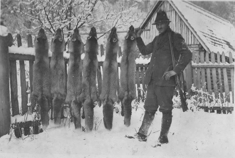Мисливці зі своїми трофеями в Карпатах. Ретро-світлини кінця 19 сторіччя. ФОТО, фото-6