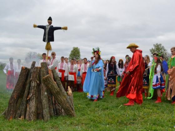 У Новоград-Волинському районі відбулося народне театралізоване свято Весни, фото-1