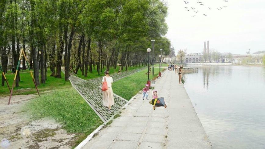 На території Левандівського озера хочуть зробити міський пляж: візуалізація, фото-3