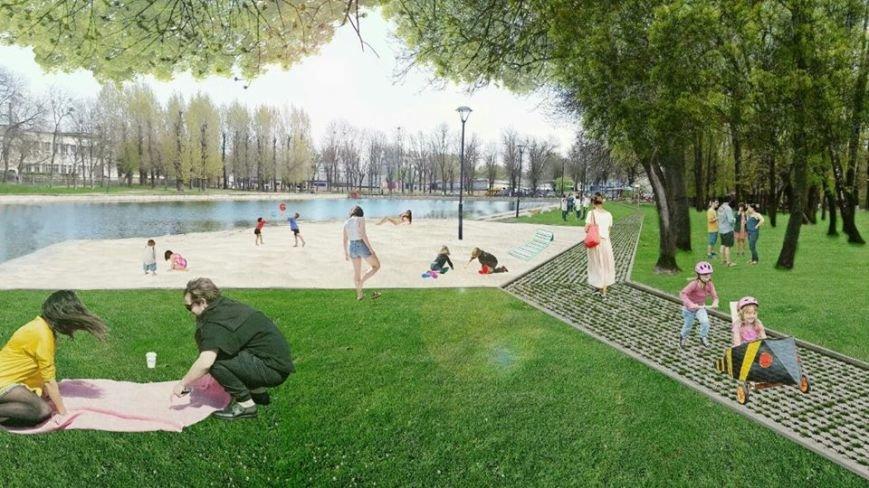 На території Левандівського озера хочуть зробити міський пляж: візуалізація, фото-4