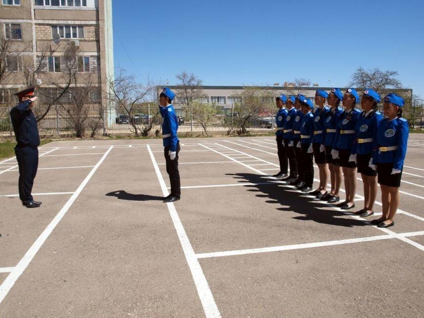 В Актау прошел 17-й слет юных инспекторов дорожного движения, фото-13