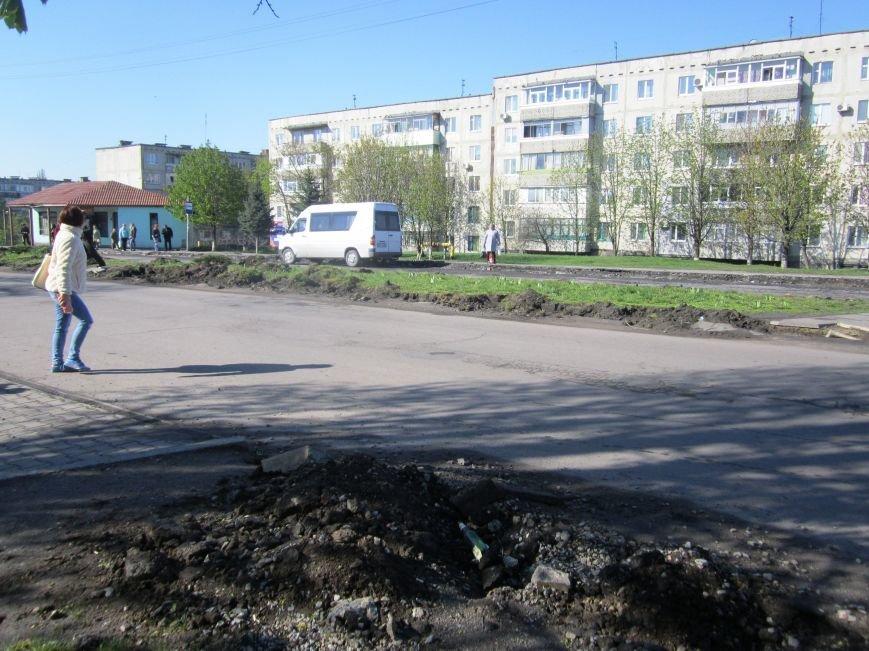 Ул Харьковская бордюры (3)