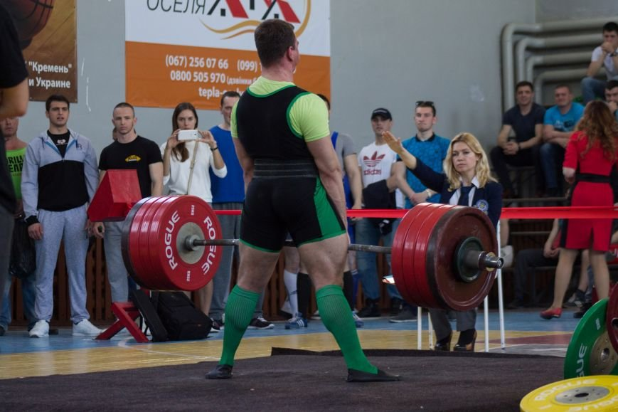 В Кременчуге состоялся Открытый турнир Кубок Титана по становой тяге (результаты и фотографии), фото-1