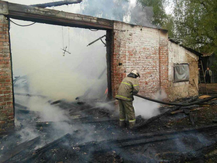 На Черниговщине сгорел столярный цех, фото-2