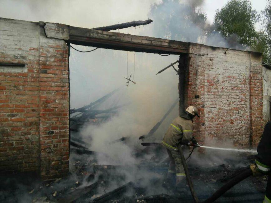 На Черниговщине сгорел столярный цех, фото-3