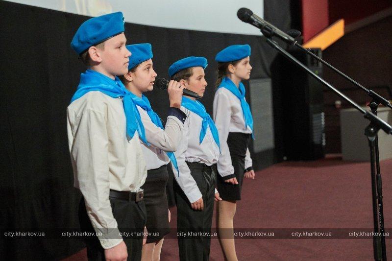 Фильмы про войну, общение с ветеранами и советские песни: к 9 мая в Харькове прошел школьный киноурок памяти (ФОТО), фото-3