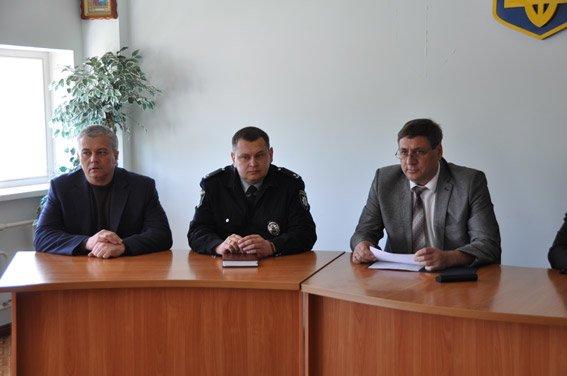 Личному составу Южноукраинского отделения полиции представлен новый руководитель, фото-2
