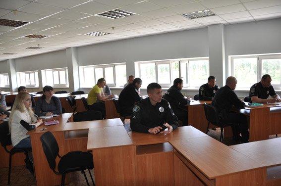 Личному составу Южноукраинского отделения полиции представлен новый руководитель, фото-1