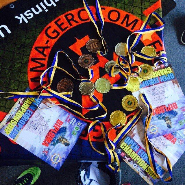 Пятеро каменчан завоевали титул чемпиона Европы по казацкому двобою, фото-2