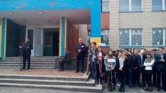У Новоград-Волинській гімназії проведено День цивільного захисту та об'єктового тренування, фото-3