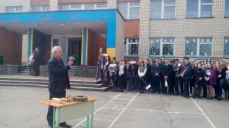 У Новоград-Волинській гімназії проведено День цивільного захисту та об'єктового тренування, фото-1