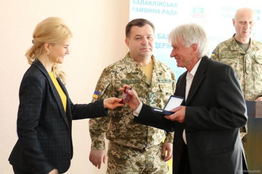 Губернатор Харьковщины и министр обороны наградили участников ликвидации пожара в Балаклее (ФОТО), фото-2