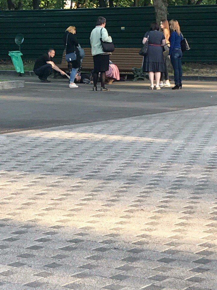 В парке Шевченко харьковчанин перерезал себе вены (ФОТО), фото-2