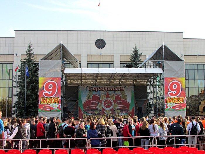 Новополоцк пробежал эстафету в честь Дня Победы. ФОТОРЕПОРТАЖ, фото-1