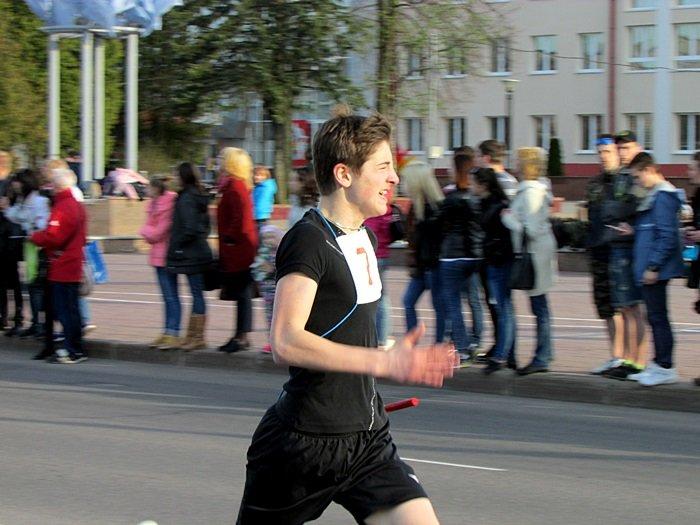Новополоцк пробежал эстафету в честь Дня Победы. ФОТОРЕПОРТАЖ, фото-20