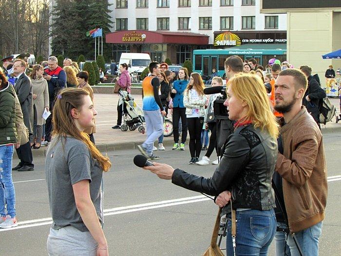 Новополоцк пробежал эстафету в честь Дня Победы. ФОТОРЕПОРТАЖ, фото-26