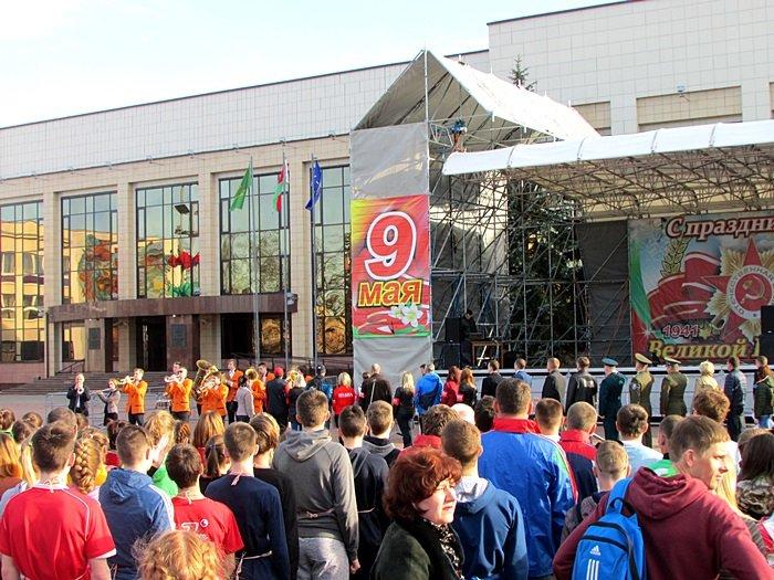 Новополоцк пробежал эстафету в честь Дня Победы. ФОТОРЕПОРТАЖ, фото-3