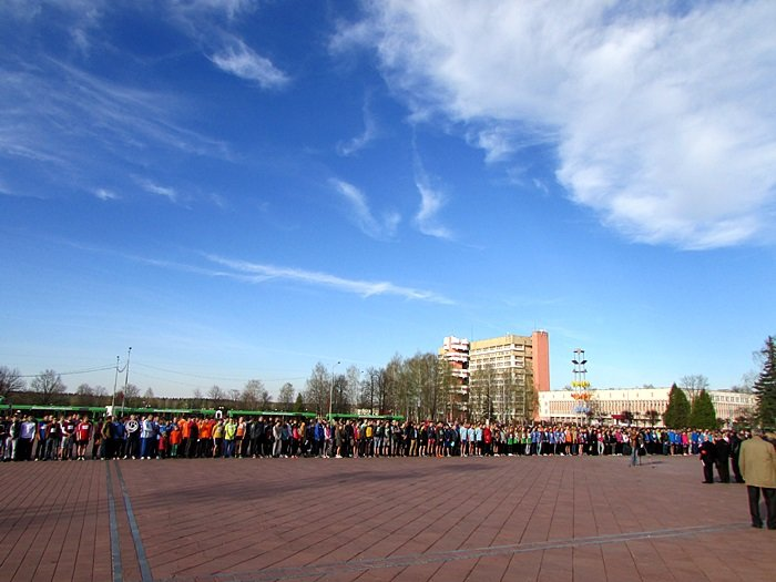 Новополоцк пробежал эстафету в честь Дня Победы. ФОТОРЕПОРТАЖ, фото-5