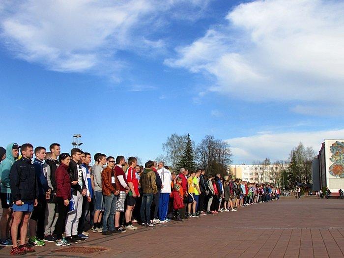 Новополоцк пробежал эстафету в честь Дня Победы. ФОТОРЕПОРТАЖ, фото-4
