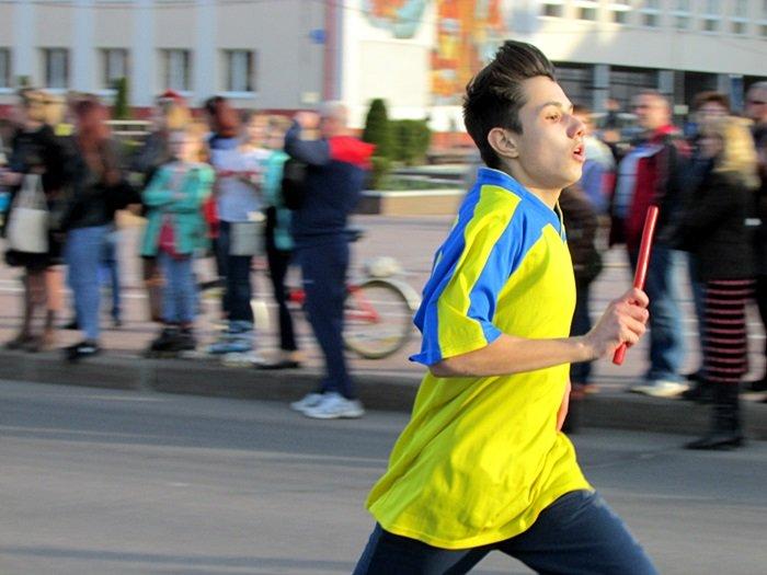 Новополоцк пробежал эстафету в честь Дня Победы. ФОТОРЕПОРТАЖ, фото-18