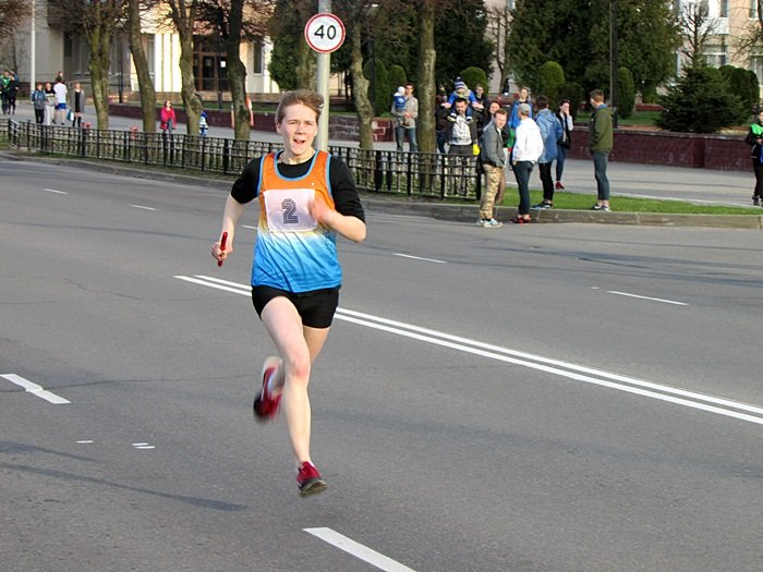 Новополоцк пробежал эстафету в честь Дня Победы. ФОТОРЕПОРТАЖ, фото-22