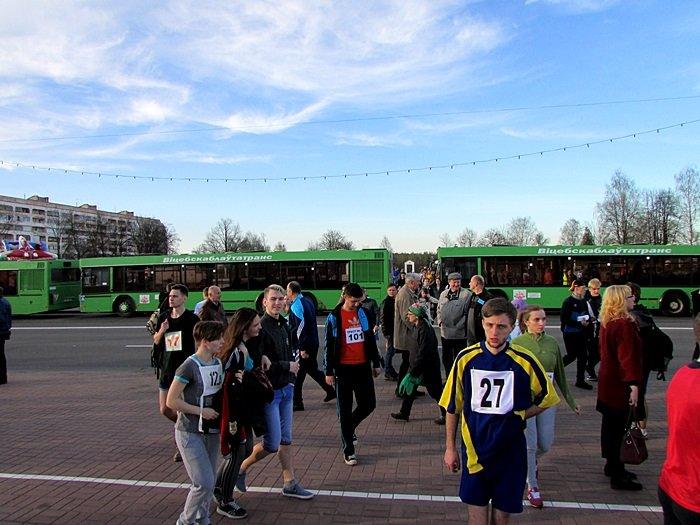 Новополоцк пробежал эстафету в честь Дня Победы. ФОТОРЕПОРТАЖ, фото-28