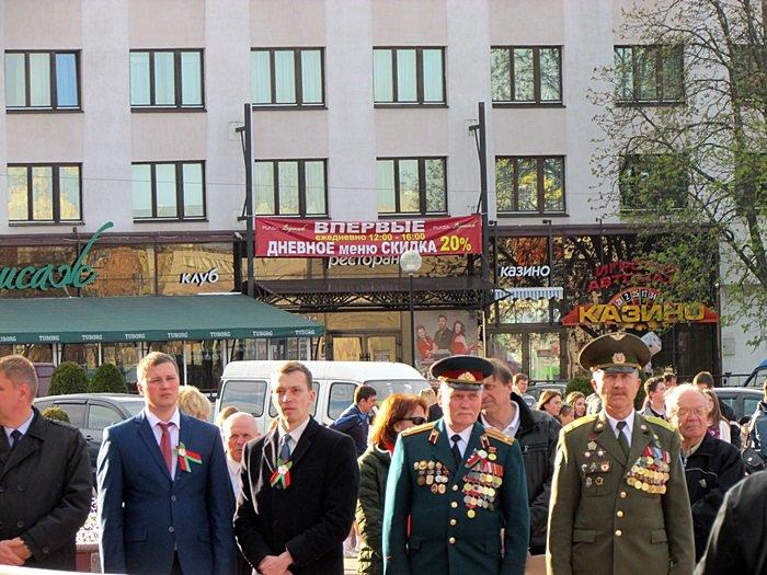 Новополоцк пробежал эстафету в честь Дня Победы. ФОТОРЕПОРТАЖ, фото-10