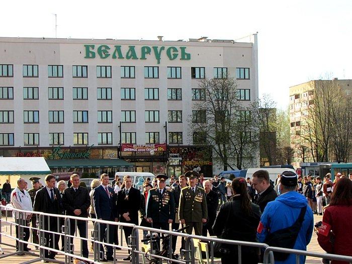 Новополоцк пробежал эстафету в честь Дня Победы. ФОТОРЕПОРТАЖ, фото-7