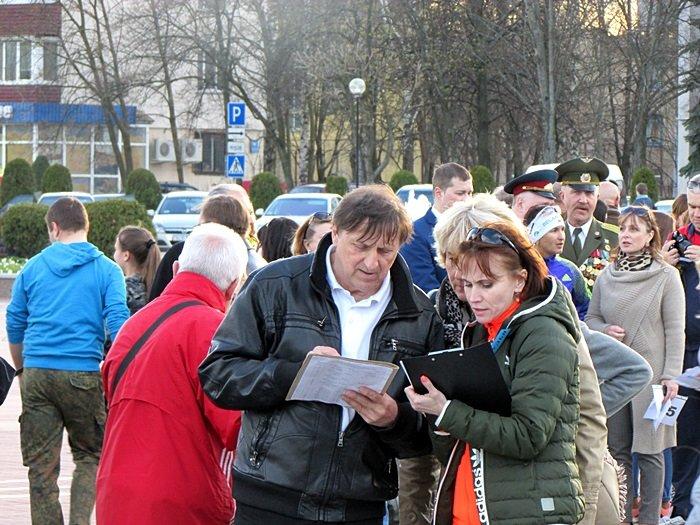 Новополоцк пробежал эстафету в честь Дня Победы. ФОТОРЕПОРТАЖ, фото-27