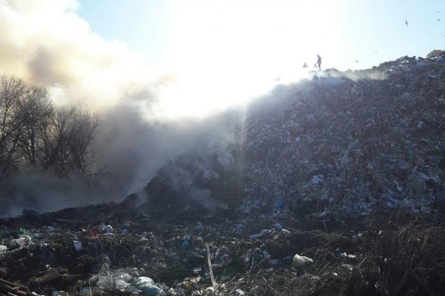 Под Харьковом горела свалка с бытовыми отходами (ФОТО), фото-2