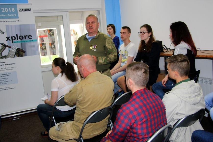 В Покровске студенты встретились с участниками АТО и ветеранами войны, фото-1