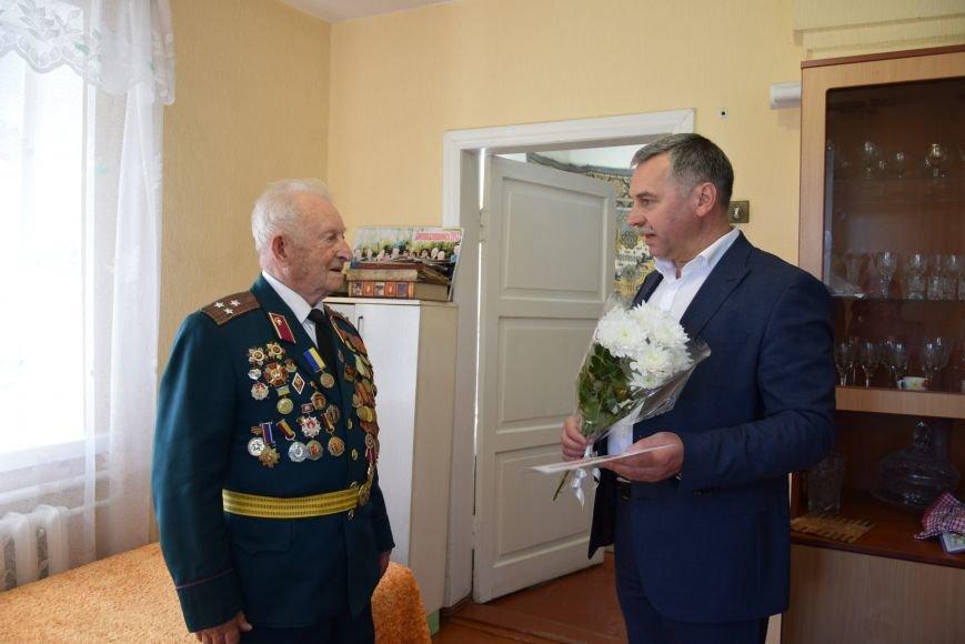 Руководство Каменского поздравило ветеранов города, фото-1