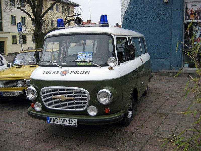 Barkas-B1000-Volkspolizei