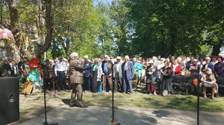 . В новомосковском терцентре чествовали ветеранов войны, фото-1