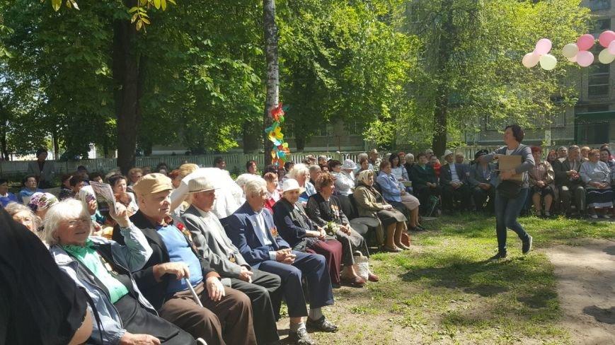 . В новомосковском терцентре чествовали ветеранов войны, фото-5